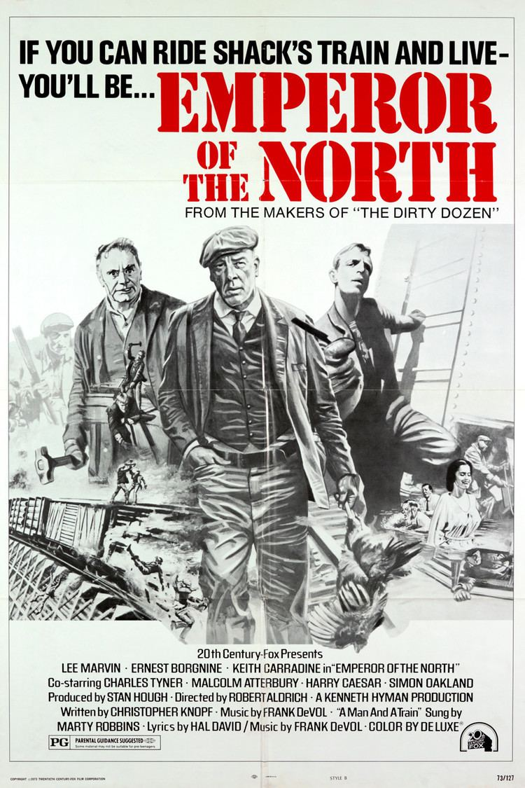 Emperor of the North Pole wwwgstaticcomtvthumbmovieposters1505p1505p