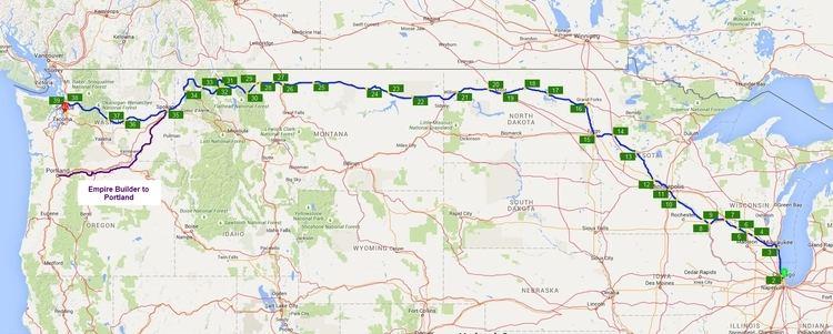 Empire Builder Empire Builder Route Atlas nanovor