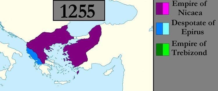 Empire of Nicaea Byzantine Empire successor states 1204 1261 Nicaea Epirus