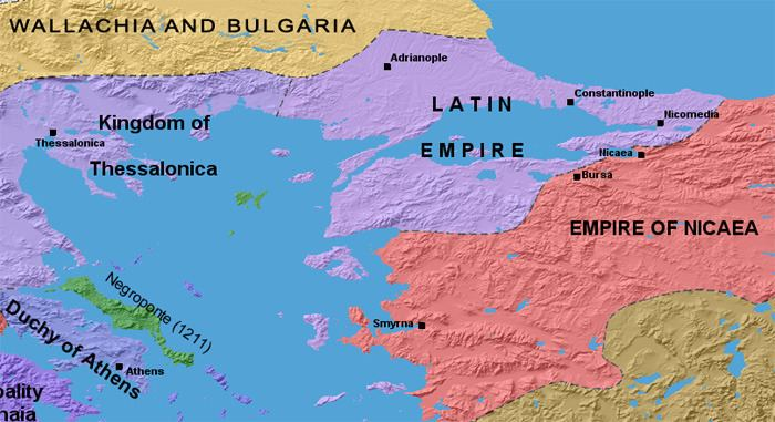 Empire of Nicaea OurMarvelousWorld The Empire of Nicaea was the largest of the three