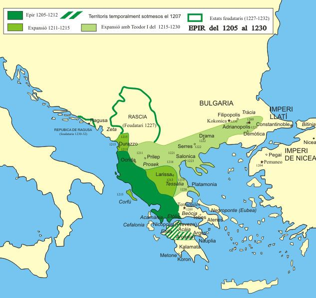 Empire of Nicaea What if the Empire of Epirus captured Constantinople before the