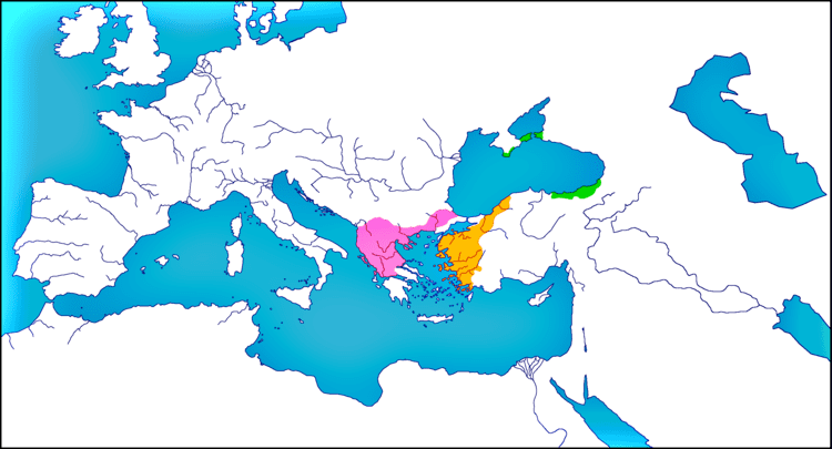 Empire of Nicaea Empire of Nicaea in 1228 by woodsman2b on DeviantArt