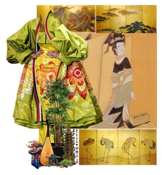 Empress Feng (Later Jin) Empress Feng Later Jin by sh0shan liked on Polyvore featuring
