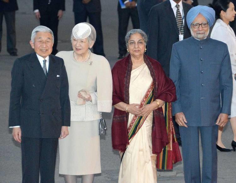 Empress Michiko Emperor Akihito Empress Michiko arrive in India for