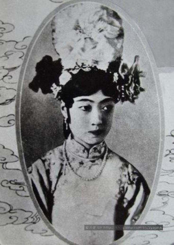 Empress Wanrong 42 besten Empress Wan Rong Bilder auf Pinterest QingDynastie