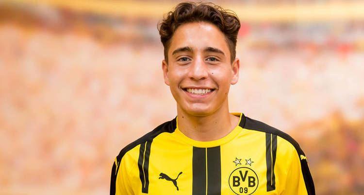 Emre Mor Borussia Dortmund sign Emre Mor bvbde