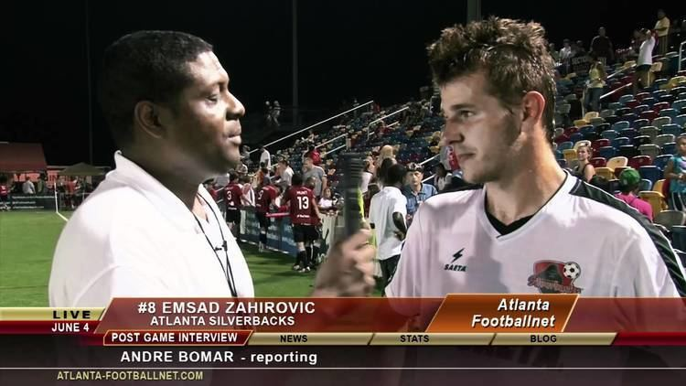 Emsad Zahirovic Emsad Zahirovic June 4 postgame Interview with Atlanta Footballnet