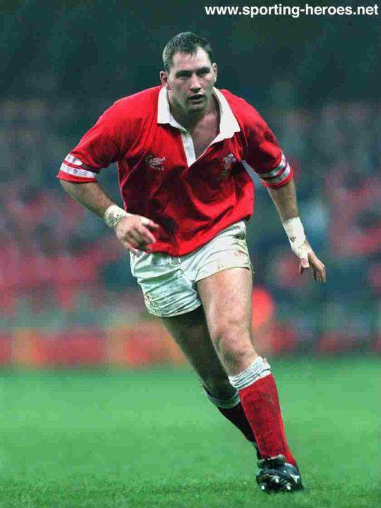 Emyr Lewis Emyr LEWIS Welsh International Rugby Caps Wales