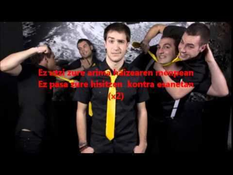 En Tol Sarmiento LETRA En Tol Sarmiento Zure mundua YouTube