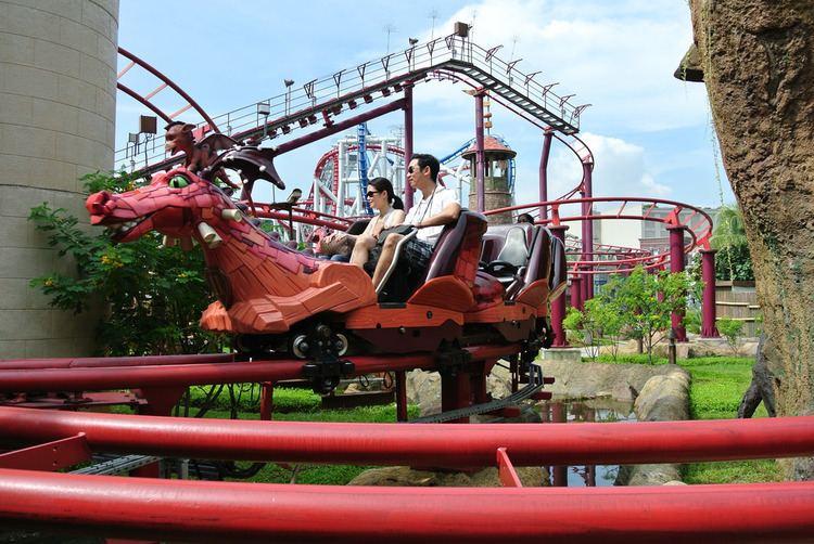 Enchanted Airways Enchanted Airways Roller coaster in Batam Wanderant