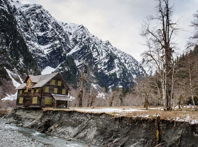 Enchanted Valley Chalet Historic Enchanted Valley Chalet Moved An Initial 68 Feet From