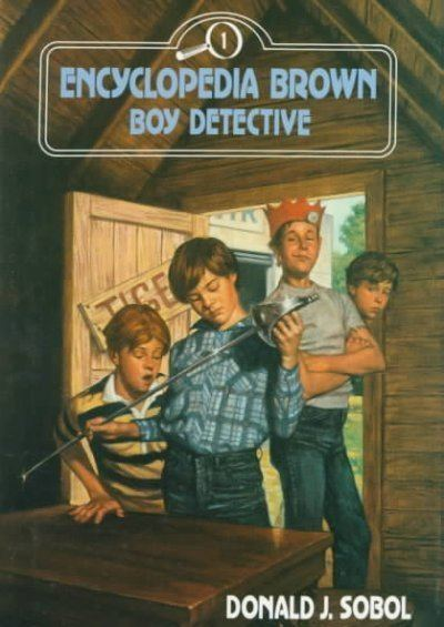 Encyclopedia Brown Encyclopedia Brown The Great Sleuth From My Youth NPR