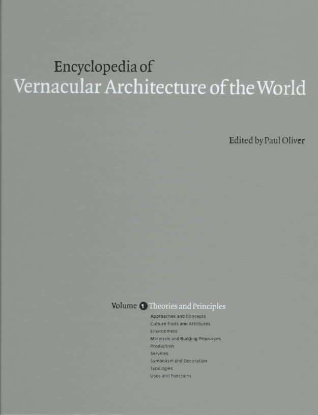 Encyclopedia of Vernacular Architecture of the World t3gstaticcomimagesqtbnANd9GcQIHFCqflLmE1nqAw