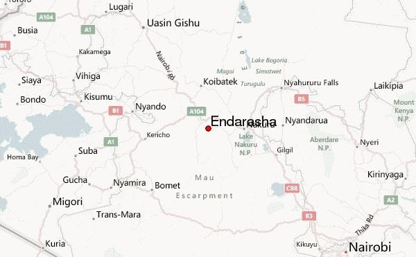 Endarasha Endarasha Weather Forecast