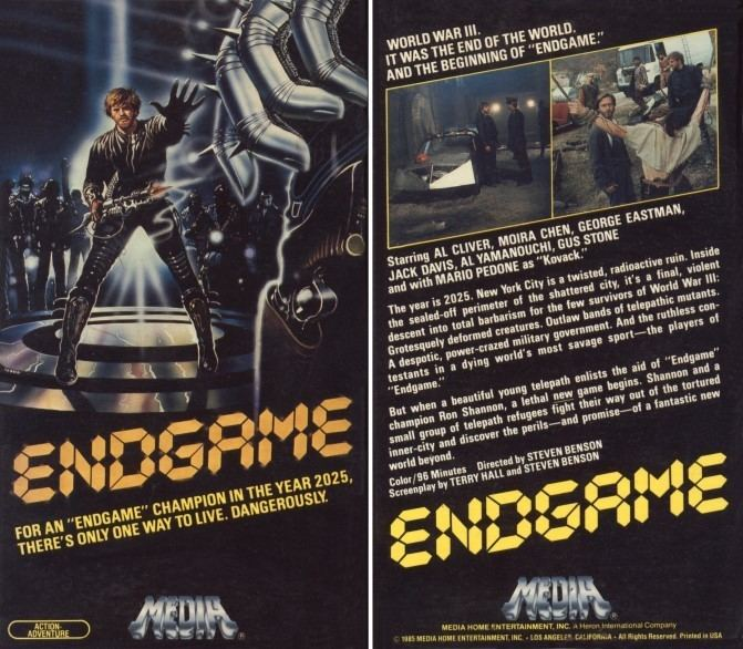 Endgame (1983 film) Endgame 1983 ScifiHorrorAction Italy Movies From the 70s