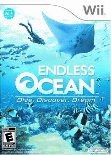 Endless Ocean Amazoncom Endless Ocean Dive Discover Dream Artist Not