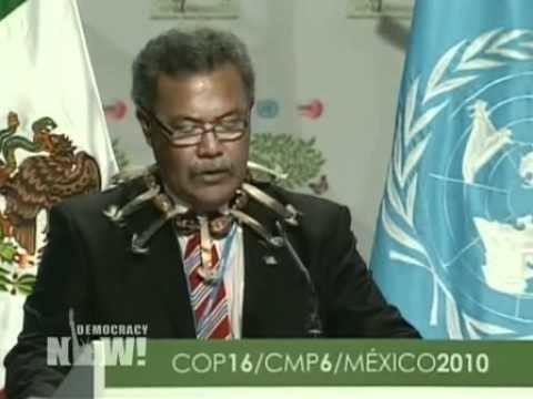 Enele Sopoaga Life or Death Small Island Nation of Tuvalu Pleads for