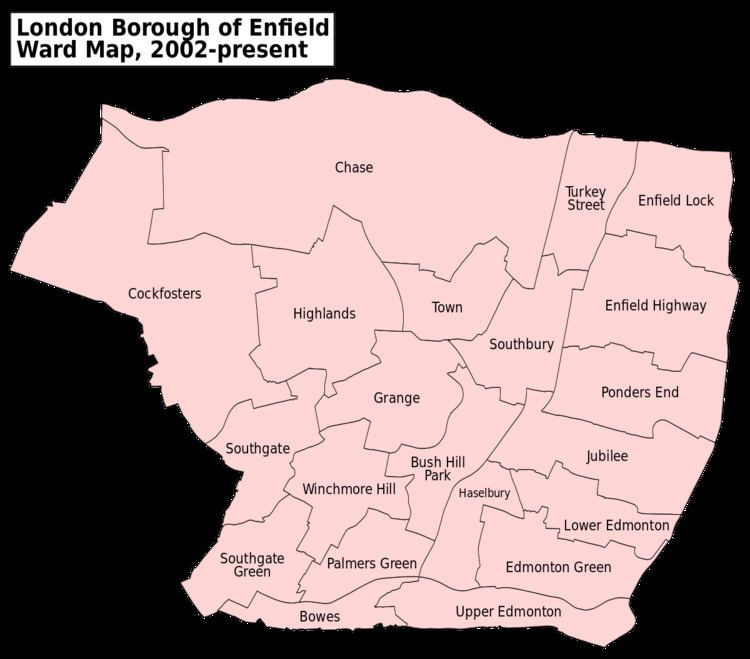 Enfield London Borough Council elections