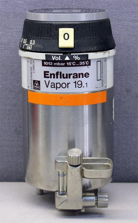 Enflurane Dragerwerk Enflurane DragerVapor Vapor Anesthetic Vaporizer 191