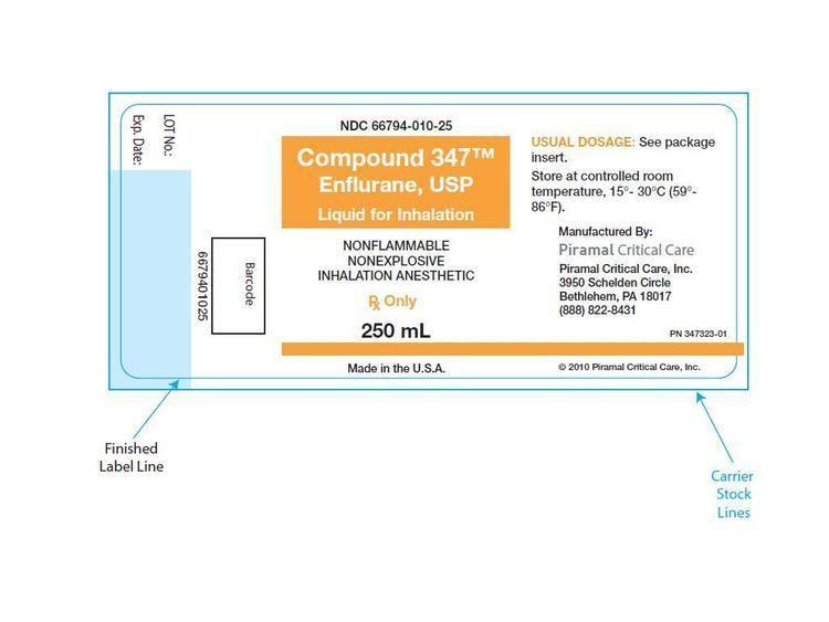 Enflurane Enflurane FDA prescribing information side effects and uses
