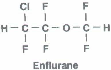 Enflurane Inhalational Anesthesia Enflurane