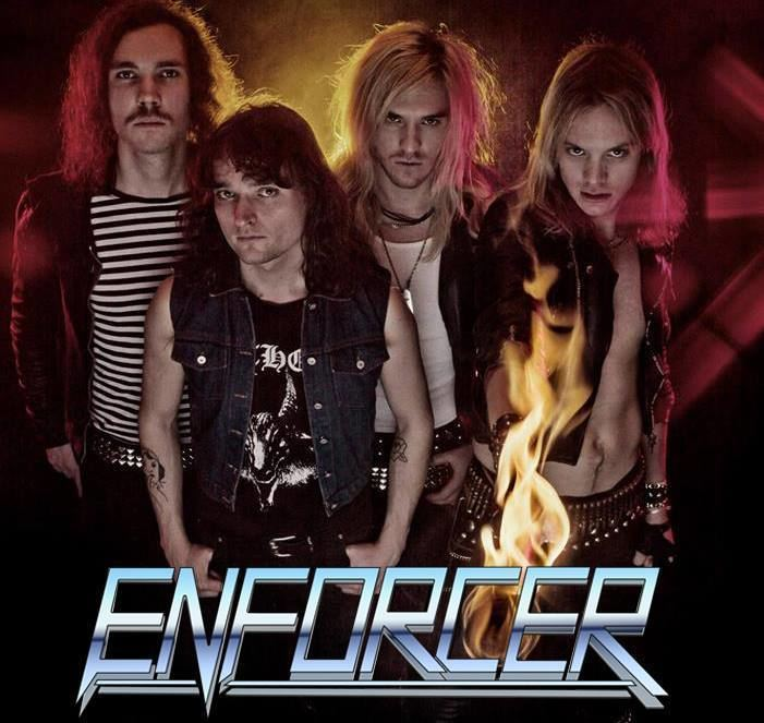Enforcer (band) Olof Wikstrand ENFORCER the interest for heavy metal created this