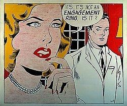 Engagement Ring (Roy Lichtenstein) httpsuploadwikimediaorgwikipediaenthumbc