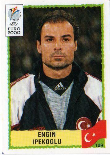 Engin Ipekoglu TURKEY Engin Ipekoglu 163 EURO 2000 Panini Football Sticker