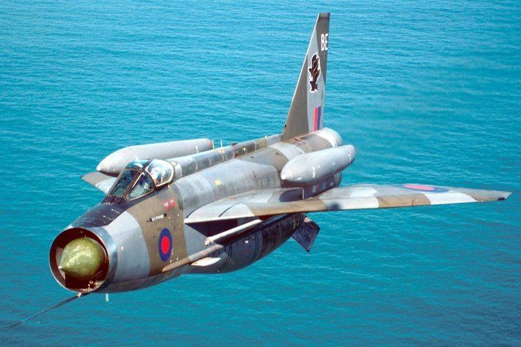 English Electric Lightning English Electric Lightning with overwing fuel tanks Aircraft
