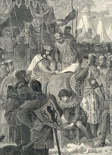 English feudal barony
