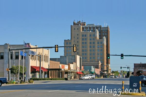 Enid, Oklahoma in the past, History of Enid, Oklahoma