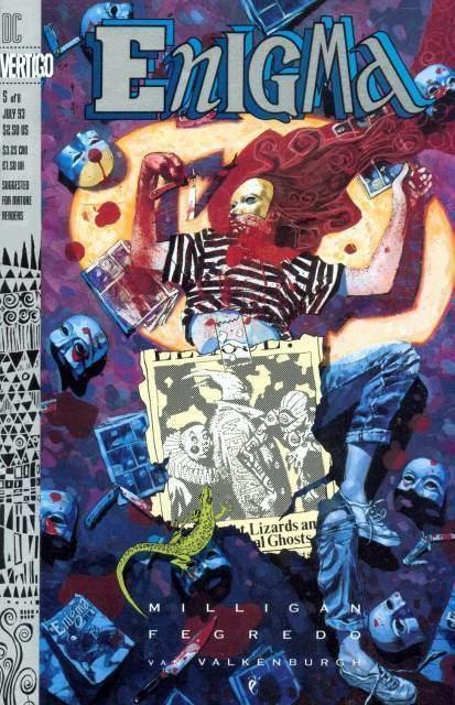 Enigma (Vertigo) Enigma 1 Episode 1 The Lizard The Head The Enigma Issue