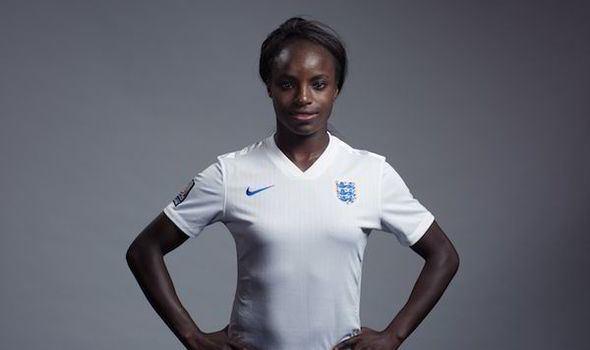 Eniola Aluko Chelsea star Eniola Aluko ready to lead England to World