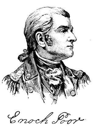 Enoch Poor Walking the Berkshires Death of General Poor 1780