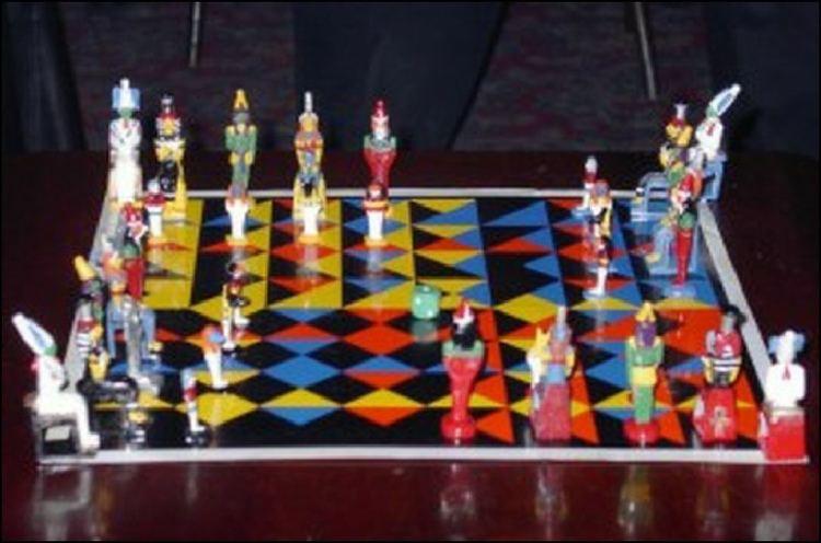 Enochian chess Home