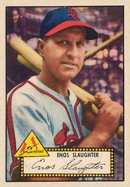 Enos Slaughter Enos Slaughter 1952 Topps 065