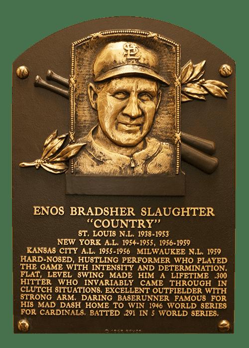 Enos Slaughter Enos Slaughter Baseball Stats by Baseball Almanac