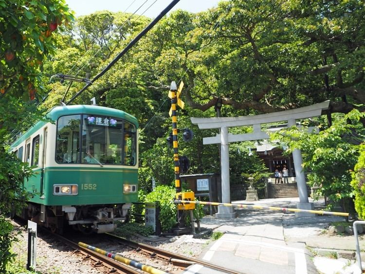 Enoshima Electric Railway The attraction of Enoshima Electric Railway aka Enoden