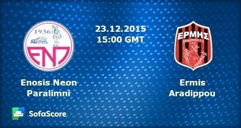 Enosis Neon Paralimni FC Enosis Neon Paralimni Ermis Aradippou live score video stream and