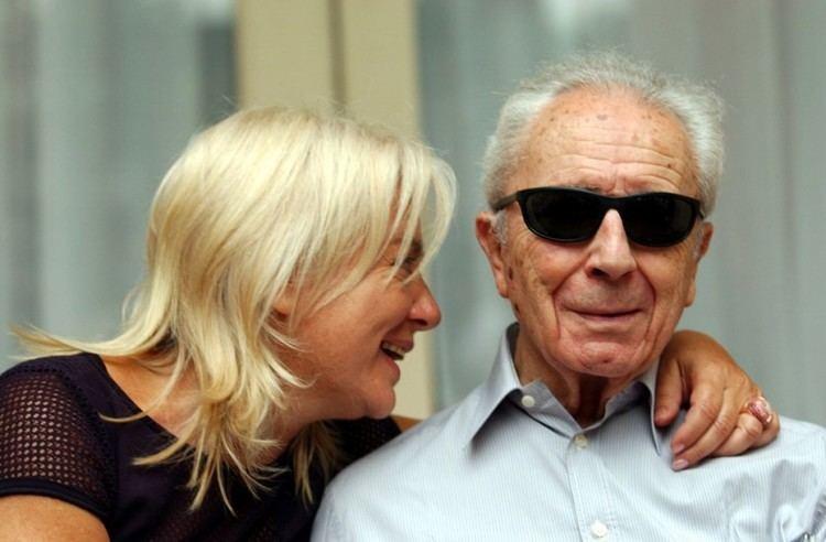 Enrica Antonioni il regista Michelangelo Antonioni con sua moglie Enrica Fico