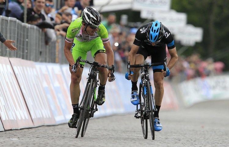 Enrico Battaglin Battaglin Wins Another for Bardiani in Giro d39Italia Stage 1