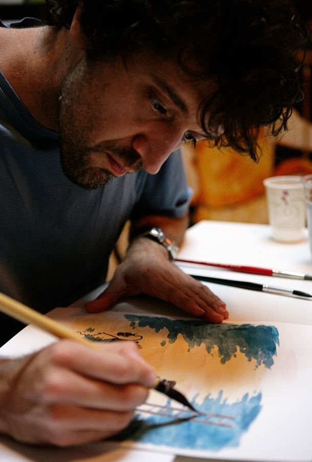 Enrico Casarosa Enrico Casarosa Italian talent Pixar Ganzo Dishing