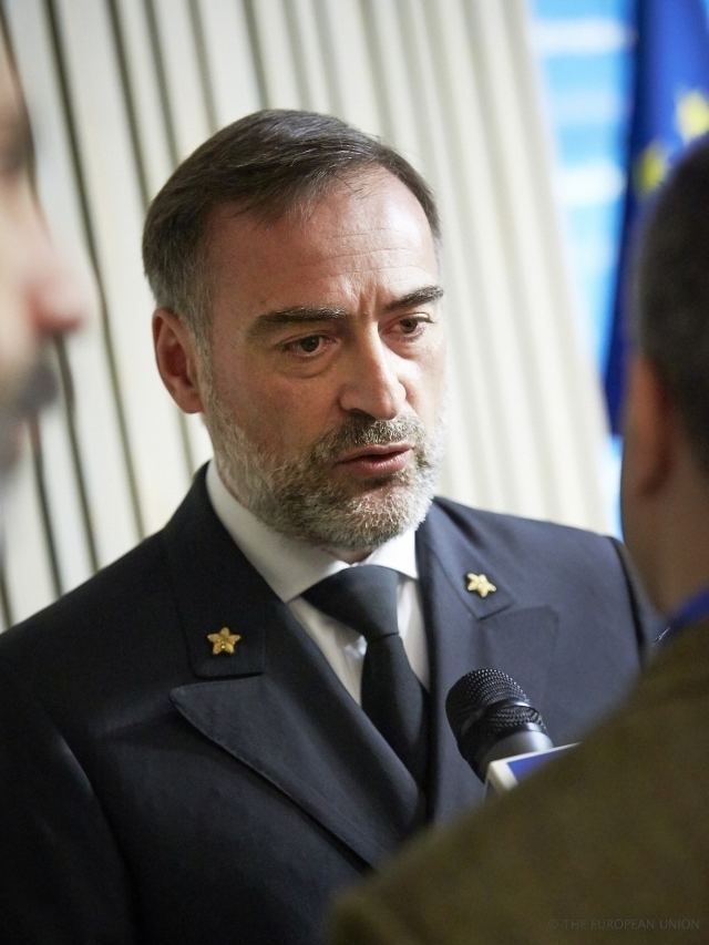 Enrico Credendino Press conference EUNAVFOR Med Operation SOPHIA EU Council Newsroom