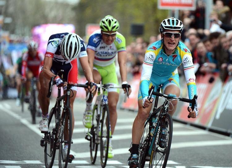Enrico Gasparotto Gasparotto wins Amstel Gold Race Cycling Weekly