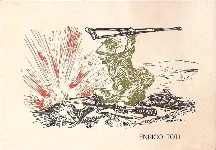 Enrico Toti The crutch of Enrico Toti Some WW1 Photographs