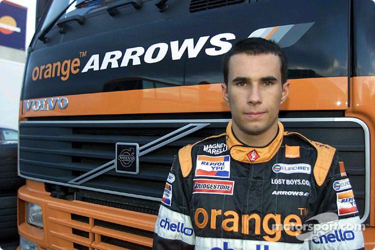 Enrique Bernoldi Enrique Bernoldi at Arrows test session Barcelona