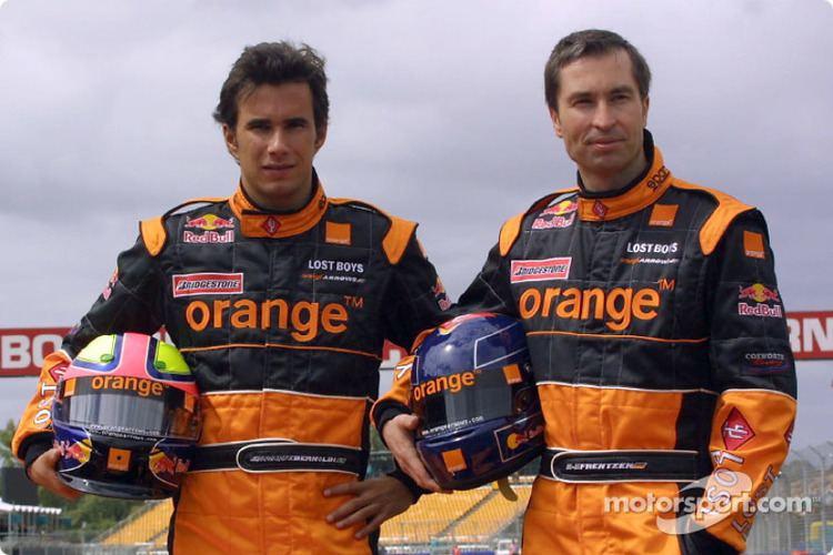 Enrique Bernoldi Official launch of the Arrows A23 Enrique Bernoldi and