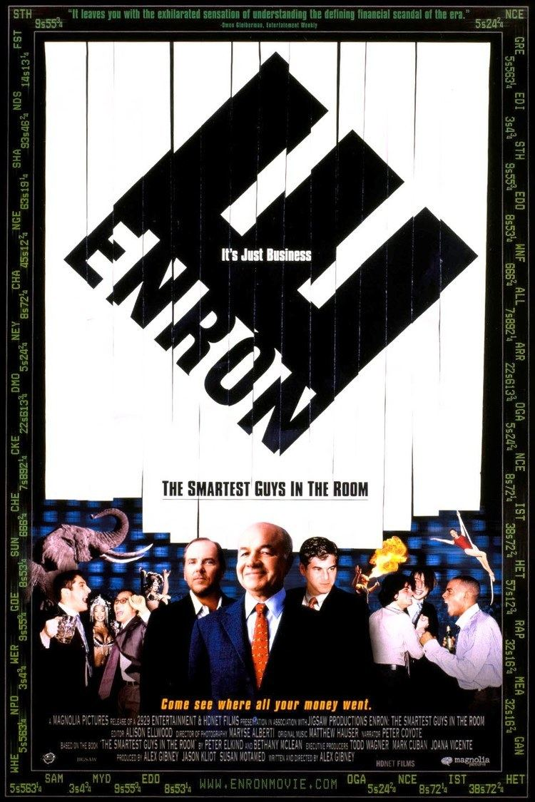 Enron: The Smartest Guys in the Room wwwgstaticcomtvthumbmovieposters35932p35932