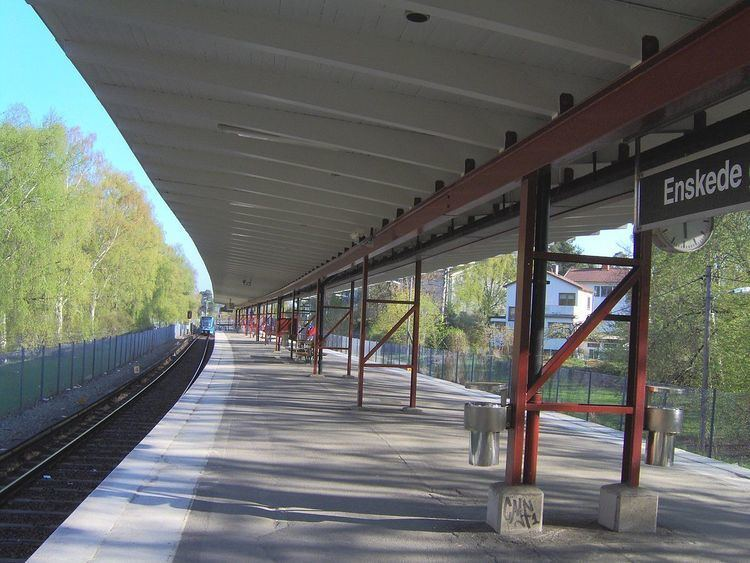 Enskede gård metro station