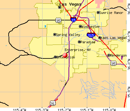 Enterprise, Nevada Enterprise Nevada NV profile population maps real estate